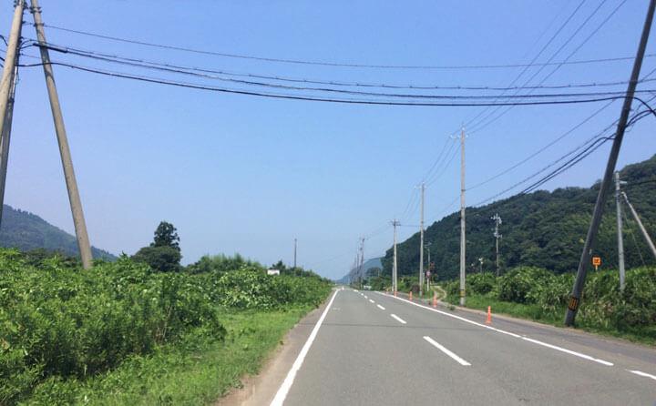 京都・舞鶴の神崎海水浴場への道程