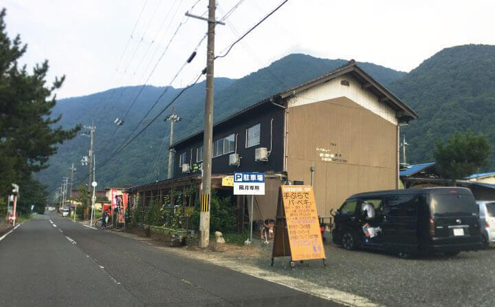 京都・舞鶴の神崎海水浴場のバーベキュー